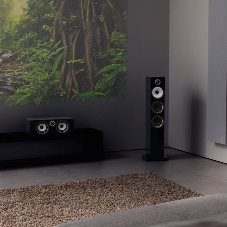 Акустика центрального канала Bowers & Wilkins HTM72 S2 Gloss black