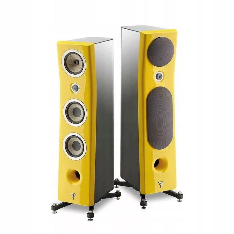 Акустика напольная Focal Kanta N° 2 Black HG \ Solar Yellow HG